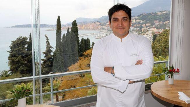 42岁阿根廷主厨克莱格瑞克(Mauro Colagreco),是唯一拿下最高三星殊荣的外籍主厨。(Getty Images)