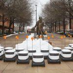 全球第1 「校園機器人」送餐  這所大學領先上路