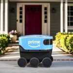 亞馬遜送貨機器人測試 大小如拉布拉多犬