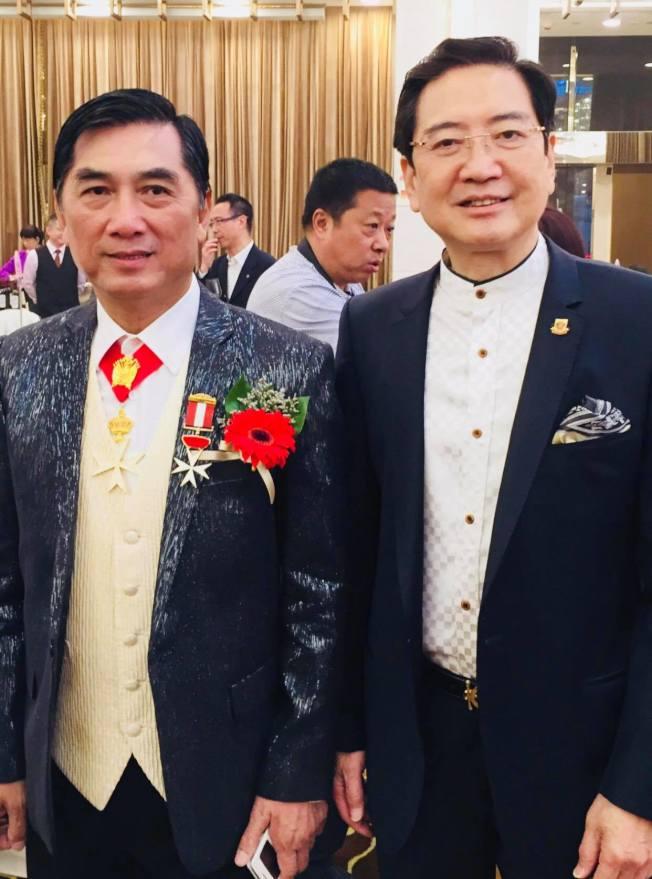 曾卷徐才厚案、现又涉6亿伦敦金骗案博爱前主席萧炎坤被捕