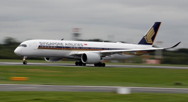 新加坡航空公司被認為擁有最好的經濟艙。( 路透)