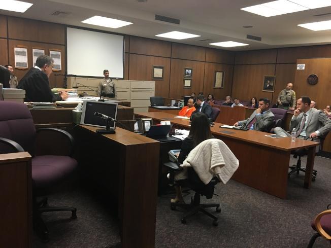 29日被告判决一级谋杀罪成立,图为法庭现场。(记者启铬/摄影)