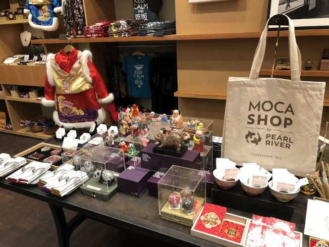 珠江百貨MOCA分店開業後首個主題為「農曆春節」。(記者洪群超/攝影)