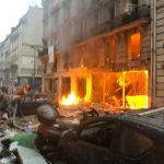 巴黎市中心驚傳爆炸  多人受傷  烈焰燒屋