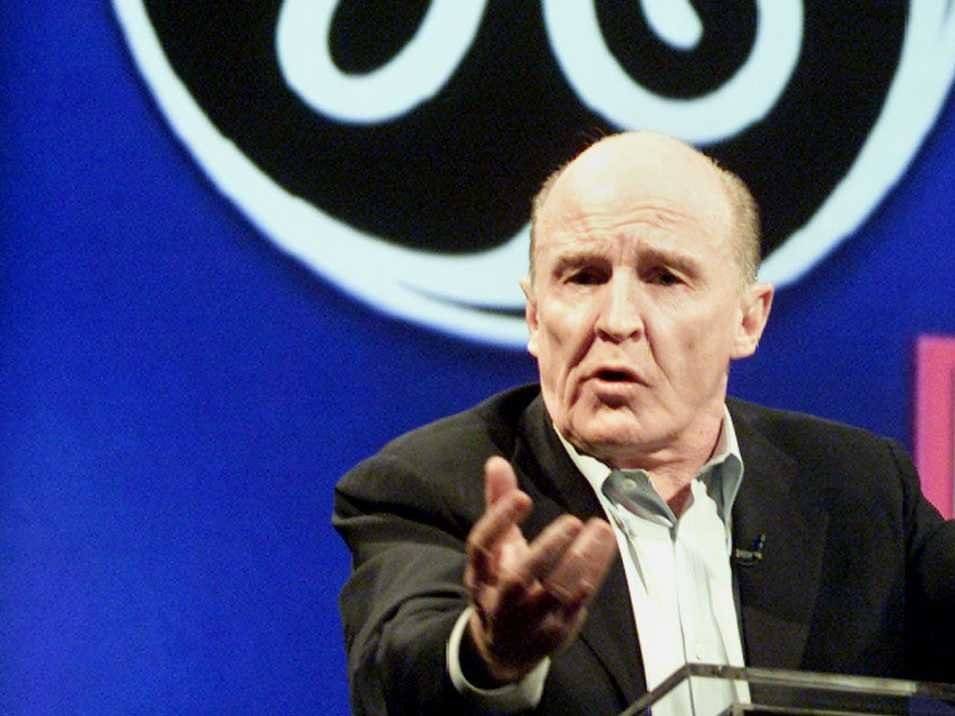 奇异公司(GE)前执行长威尔许。路透
