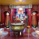 赤松黃大仙廟 開放祈福設有太歲燈、財神燈、姻緣燈、光明燈服務