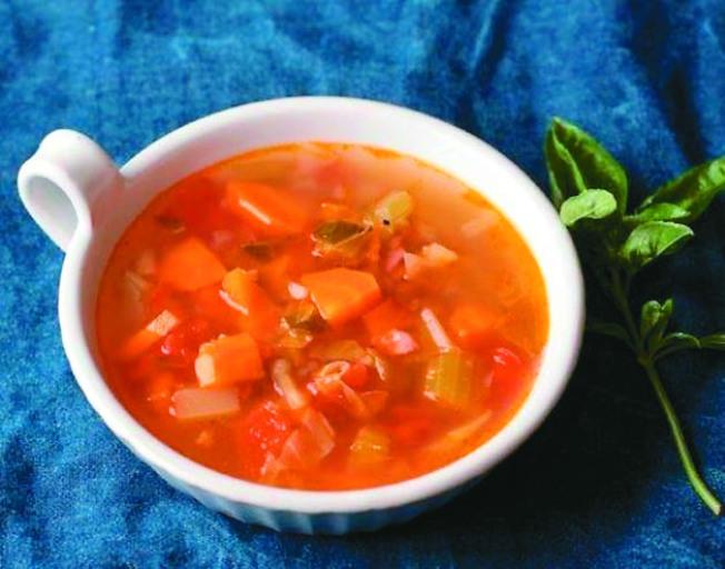 慢燉義式蔬菜湯(圖:幸福文化提供)