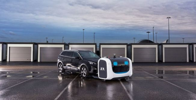 倫敦蓋威克機場計畫引進機器人停車。(取材自Stanley Robotics官網)