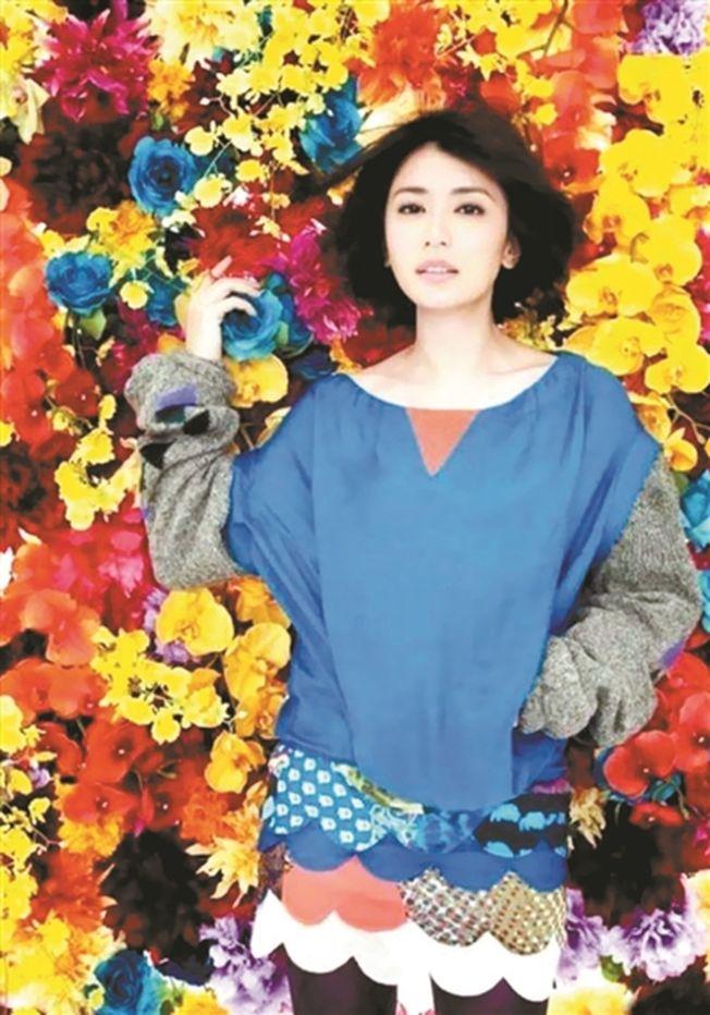 賈靖雯身穿張娜改造的衣服。(取材自北京青年報)