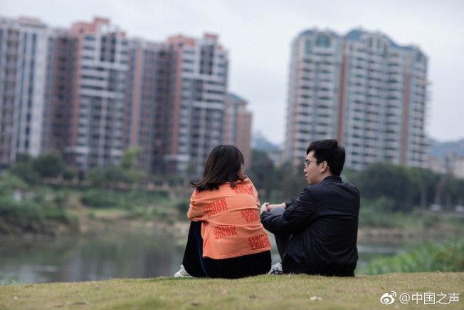 蔡勇斌透過自學編程、編寫無障礙程序,並成立科技公司,還收穫了甜蜜的愛情。(取材自微博 ) 