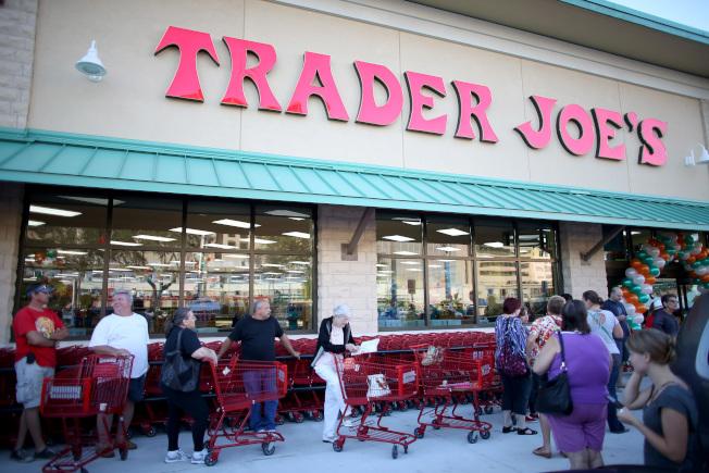 分析顯示,喬氏連鎖超市(Trader Joe's)連續第二年成為美國消費者最愛的超市。(Getty Images)