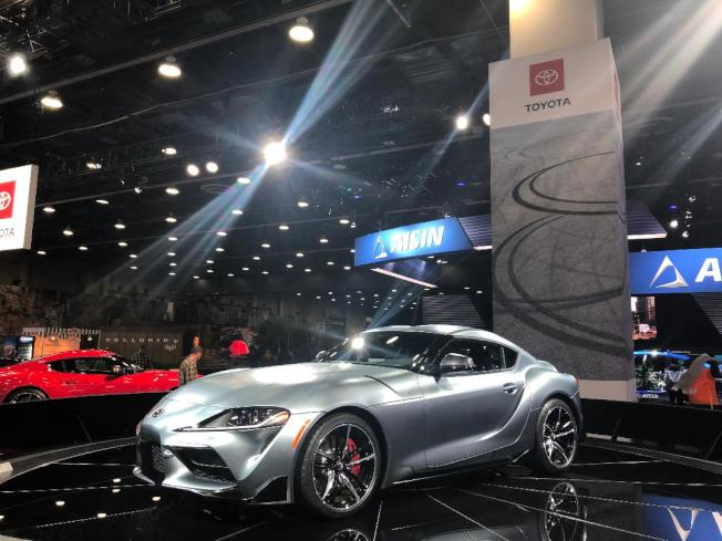 豐田Toyota揭幕世界首秀的2020 Supra跑車,使用寶馬BMW同款的Z4引擎。
