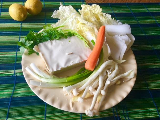 豆腐海鮮煲材料
