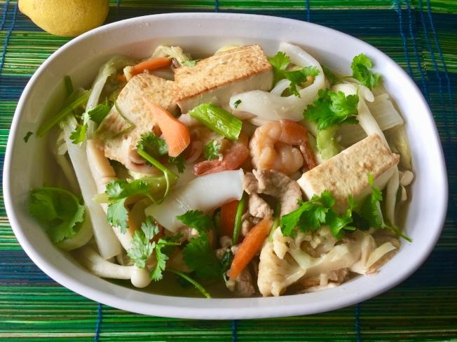 豆腐海鮮煲