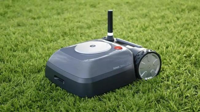 iRobot將推出一款電池供電割草機器人,取名為Terra。(取自iRobot官網)