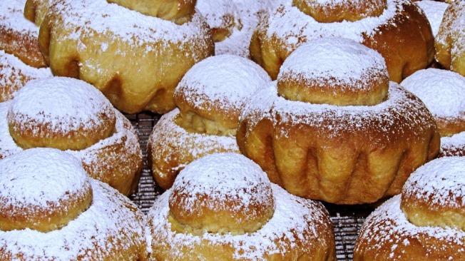 尖頭型的布里歐麵包。(Pixabay)