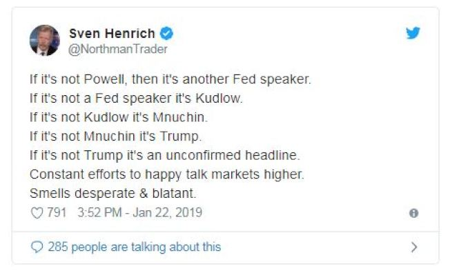 NorthmanTrader首席市場策略師亨利奇的貼文。(推特)