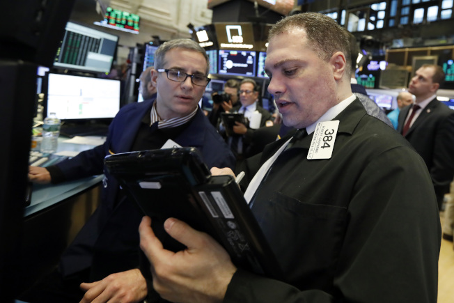 半數股票掌握在全美1%的人口手上。(美聯社)