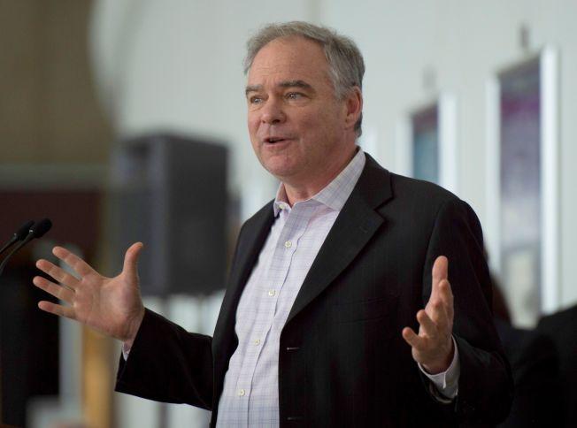同为民主党籍的维州国会参议员肯恩呼吁诺谭州长辞职。(Getty Images)