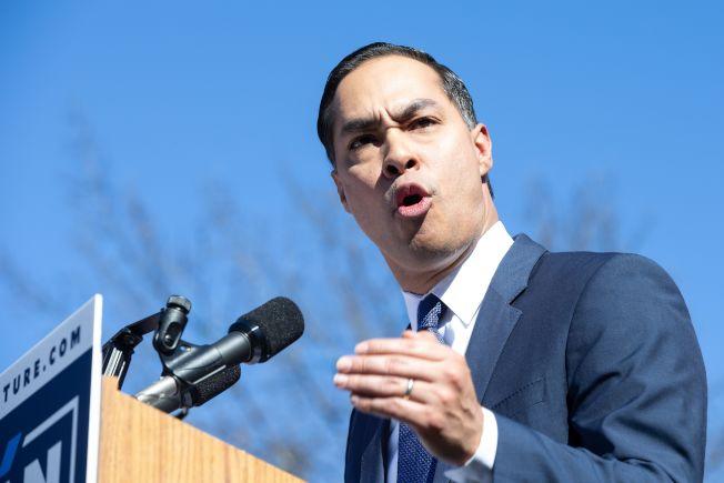 民主党籍前圣安东尼奥市长卡斯楚呼吁诺谭辞职。(Getty Images)