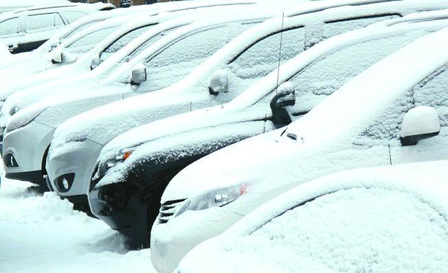 美國1月天氣寒冷,衝擊車市銷售表現。(路透)