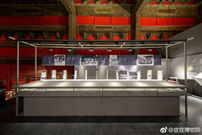 展廳裡面的展覽,往往藏著許多驚喜。(取材自微博)