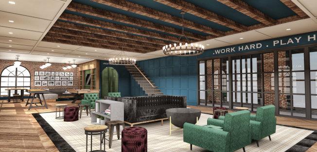 「肯特187號」規畫設施包括停車場、健身房、公共頂樓休息室和屋頂花園等。(取自CW Realty)