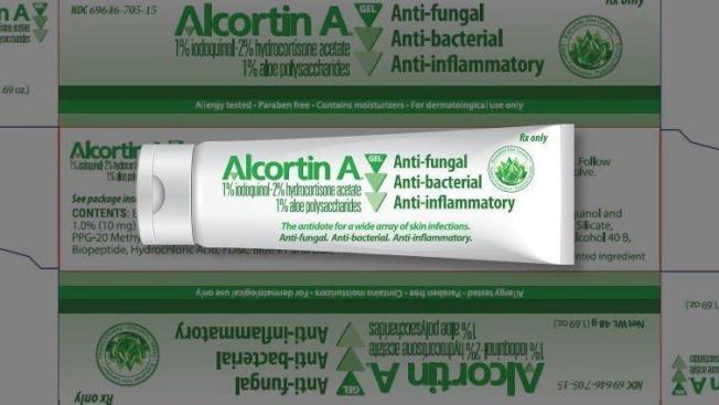 圖中這款皮膚藥在兩年前漲價35倍,不過生產的Novum藥廠仍然不支,申請破產保護。(Novum藥廠)