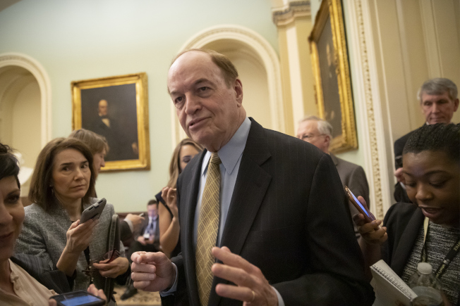 參院撥款委員會主席薛爾比說,由於川普總統非常理性,使議員對最終達成邊界安全協議感到樂觀。(美聯社)