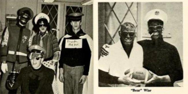 1968年維州軍校畢業紀念冊也出現黑臉照片。(維州軍校紀念冊)