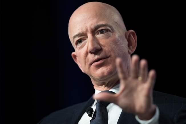 亞馬遜創辦人兼執行長貝佐斯。(Getty Images)