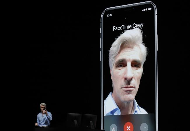 蘋果電腦公司為FaceTime「群聊」功能出現隱私問題道歉,將提供發現這項問題的一名亞利桑納州青少年教育費用。(美聯社)
