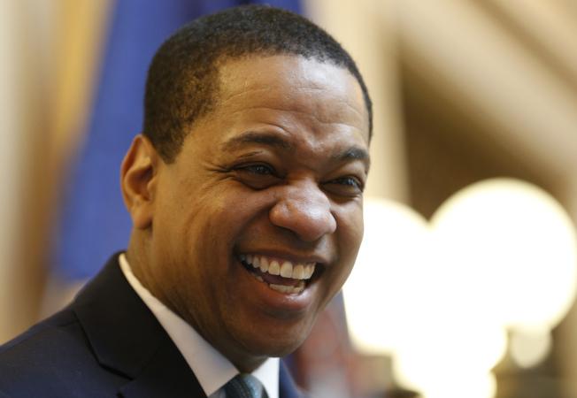 維州副州長費爾法克斯(Justin Fairfax)又遭第二名女性指控性侵。(美聯社)