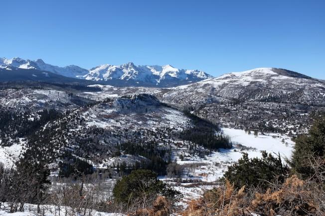 科羅拉多州因為洛磯山脈橫越,美景處處。