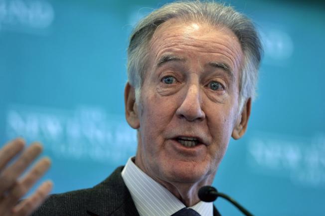 國會眾議員提案要求總統和總統候選人都要公開稅表,圖為眾院歲出入委員會主席尼爾。(美聯社)