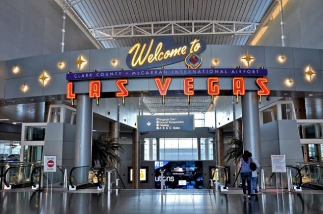 賭城麥克倫國際機場出入人數去年創新高。(麥克倫國際機場官網)
