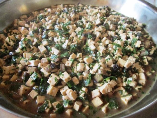 香椿蘑菇豆腐