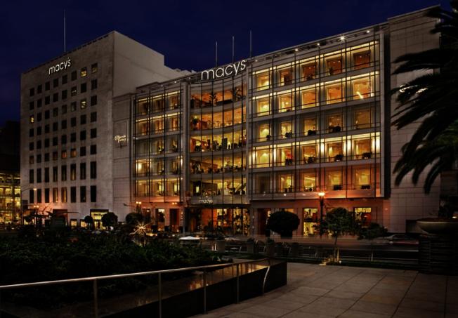 舊金山聯合廣場的梅西百貨是金山的地標之一,Sand Hill Property打敗國際競爭者買下,意義非凡。(Sand Hill Property提供)