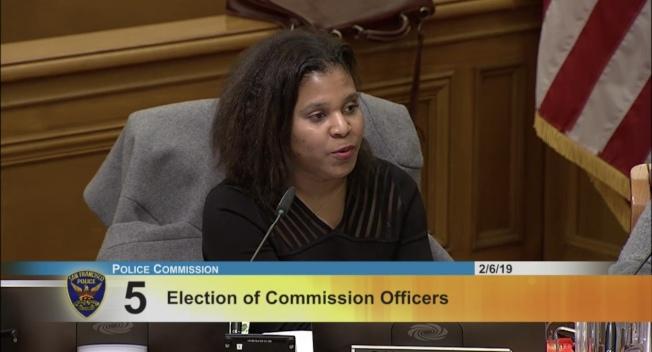 新任警委會副主席泰萊,去年9月獲市長布里德任命為警委。(取材自警局網站)