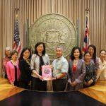 分會會交接 世華婦女企管協會總會長劉琍綺訪夏威夷