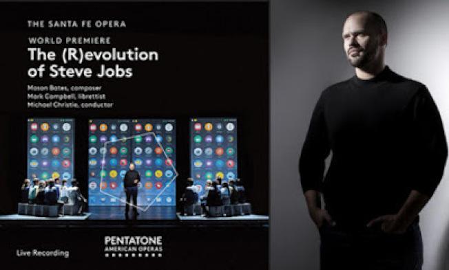 美國作曲家梅森.貝茲的「喬布斯的進化革命」歌劇,為吳蔚贏得第一座葛萊美獎。(Santa Fe Opera 提供)