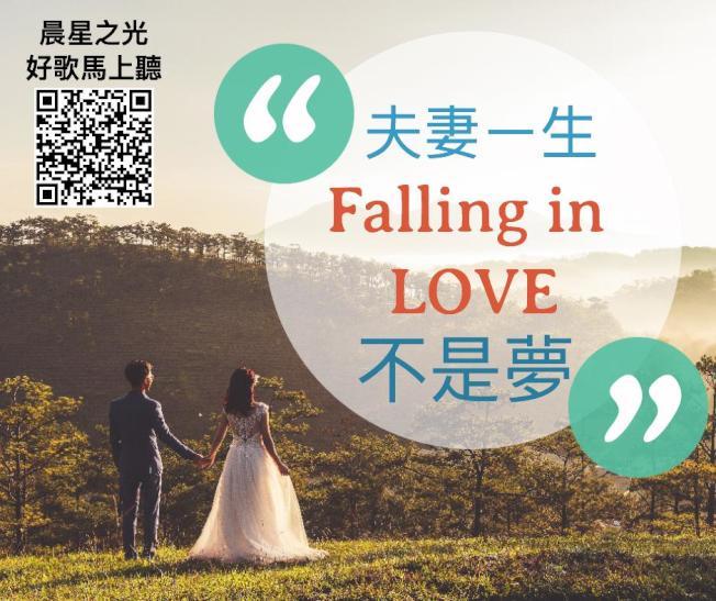 夫妻一生 Falling in Love,不是夢。