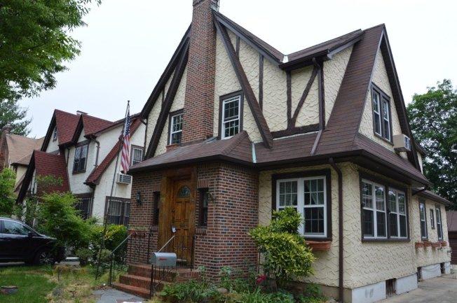 川普舊居以290萬元再次掛牌出售。(記者牟蘭/攝影)