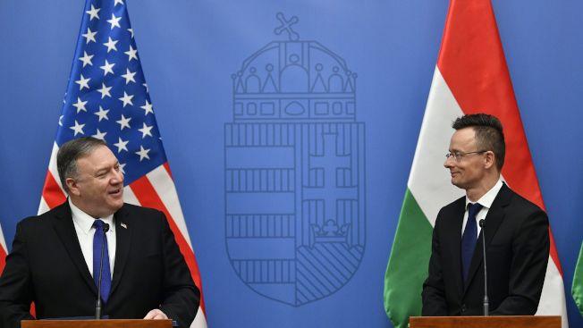 匈牙利外長(右):在中國問題上,我認為最終應該拋棄裝模作樣。(路透)