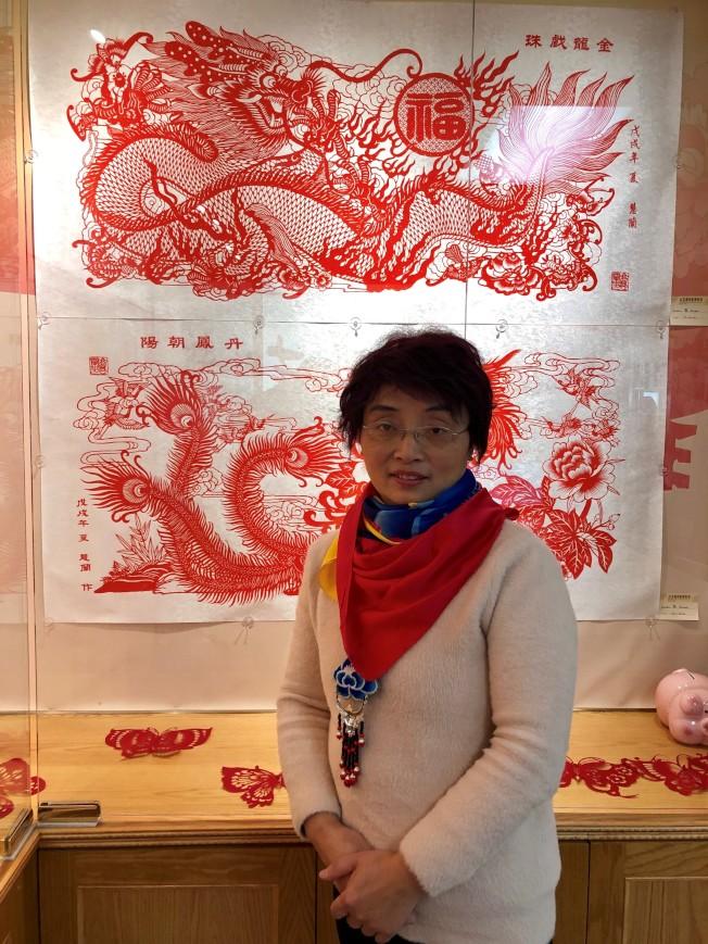 藝術家高慧蘭 全球傳播剪紙文化