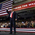 川普赴德州造勢 宣導築邊牆 民主黨歐洛克集會打對台