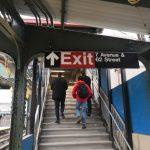 關閉32年 布碌崙7大道地鐵出入口重開