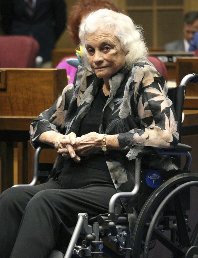 已退休的聯邦大法官歐康納罹患有阿茲海默症。(美聯社)
