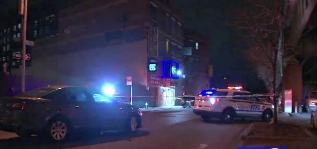 警方封鎖案發現場。(ABC視頻截圖)