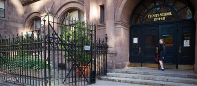 位於曼哈頓上西城的三一學校。(取自三一學校臉書)